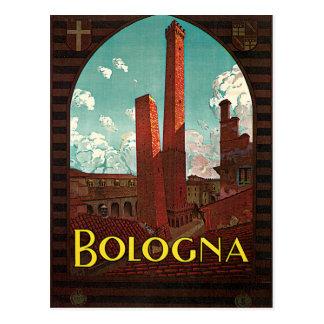 Bologna Bononia Italien Vintage Reise Postkarte