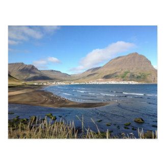 Bolungarvik, Vatnsfjörður, Island Postkarte
