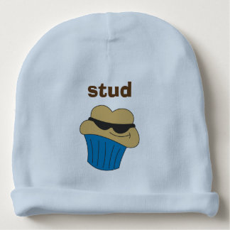 Bolzen-Muffin-Bio Babybeanie-Hut Babymütze