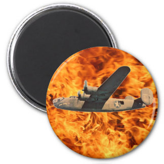 Bombe des Feuer-B-24 Runder Magnet 5,7 Cm