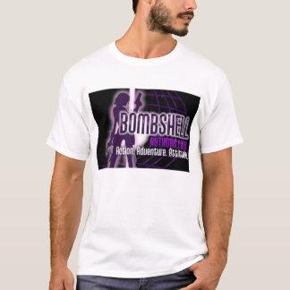 Bombe schreibt Logo T-Shirt