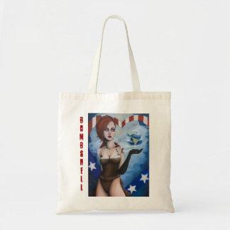 Bomben-Taschen-Tasche Budget Stoffbeutel