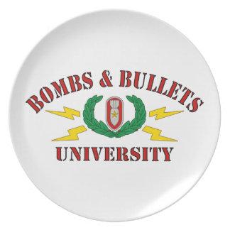 Bomben u. Kugel-Universität Teller