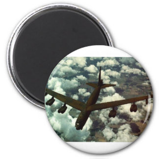 Bomber B-52 Runder Magnet 5,1 Cm