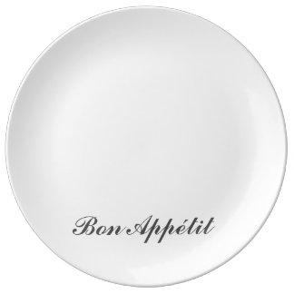 Bon-Appetit-Platte Teller