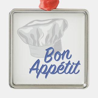 Bon Appetit Silbernes Ornament
