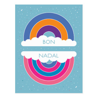 Bon Nadal Postkarte
