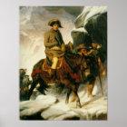 Bonaparte, der die Alpen überquert Poster