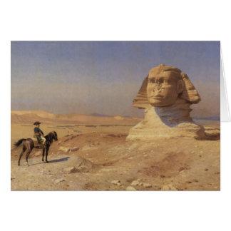 Bonaparte vor der Sphinxe Karte