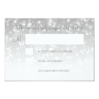 Bonbon 16 Geburtstag UAWG Silber Bokeh Karte