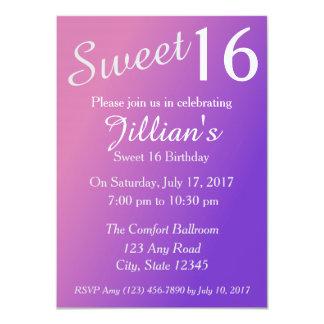 Bonbon 16 Geburtstags-Einladung 11,4 X 15,9 Cm Einladungskarte