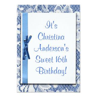 Bonbon-16. Geburtstags-niedliche Party Einladung