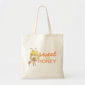 Bonbon als Honig Budget Stoffbeutel