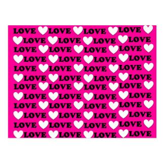 Bonbon ist es ganz über Liebe - i-Liebe Sie Postkarte