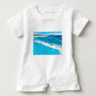 Bondi Eisberge (18. Februar) Baby Strampler