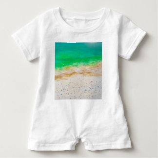 Bondi Strand-Luftaufnahme Baby Strampler