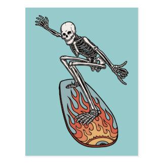 Bonehead-Brett-Typ Postkarte