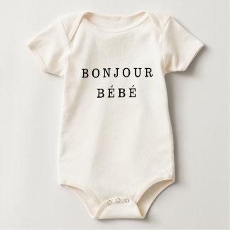 """Bonjour Bébé"" Baby-Bodysuit Baby Strampler"