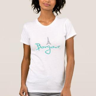 Bonjour (hallo) Paris T-Shirt