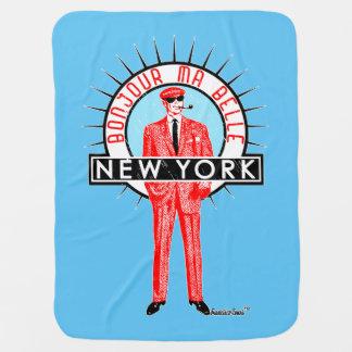 Bonjour ma belle New York by Francisco Evans ™ Babydecke