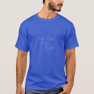 Bonjour Montag Cheri, französisch T-Shirt