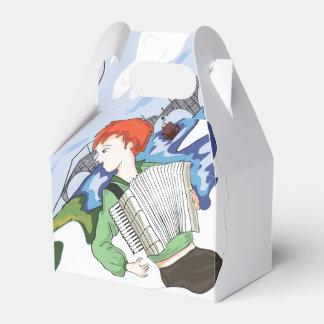 Bonjour Paris Zeichnen Geschenkschachtel