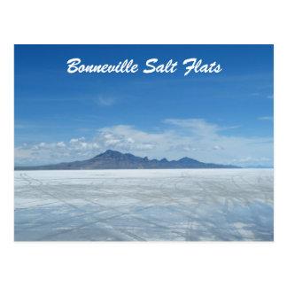 Bonneville-Salz-Ebenen Postkarte