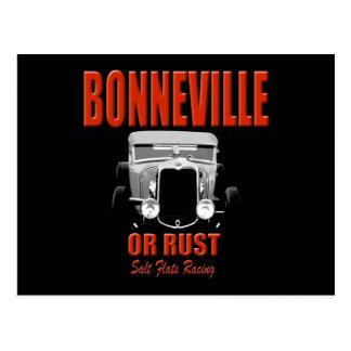 Bonneville-Salzebenelaufen Postkarte
