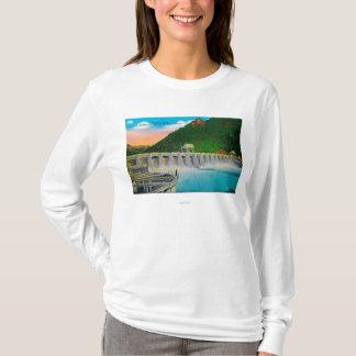 Bonneville-Verdammung auf Columbia River T-Shirt