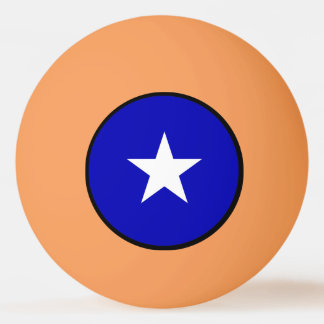 Bonnie-blauer Sumpf-Schwertlilie Ping-Pong Ball