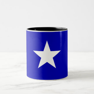 Bonnie-blauer Sumpf-Schwertlilie Zweifarbige Tasse