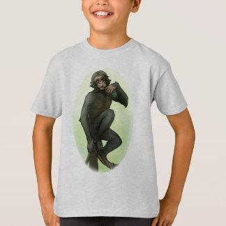 Bonobo, der Frucht-T - Shirt isst