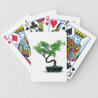 Bonsaibaum Malerei Bicycle Spielkarten