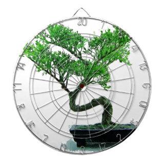 Bonsaibaum Malerei Dartscheibe