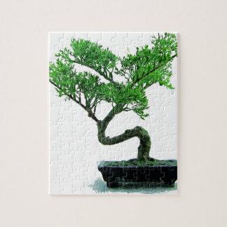Bonsaibaum Malerei Puzzle