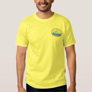Bonsais-Baum Besticktes T-Shirt