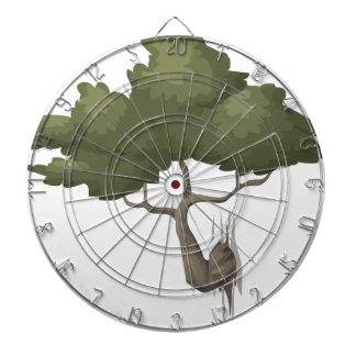 Bonsais-Baum Dartscheibe