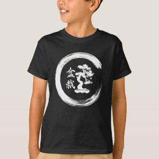 Bonsais-Baum Enso Kreis-Baum der Leben-Zen-Kunst T-Shirt