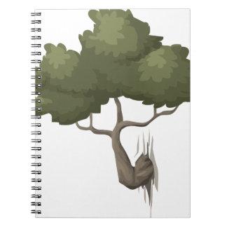 Bonsais-Baum Notizblock