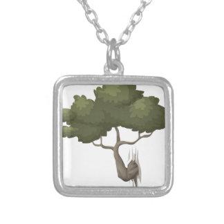 Bonsais-Baum Versilberte Kette