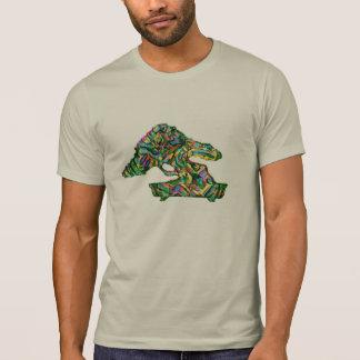 Bonsais-Form-Silhouette-abstraktes Shirt