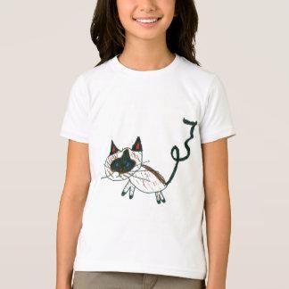 Bonsais-siamesische Katze T-Shirt