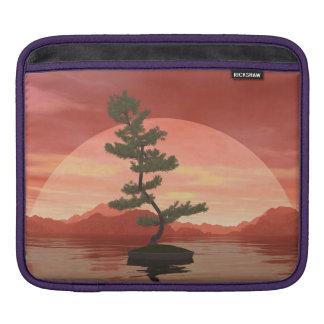 Bonsaisbaum der schottischen Kiefer - 3D iPad Sleeve