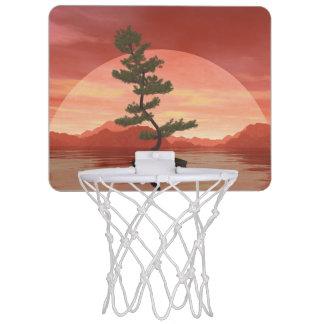 Bonsaisbaum der schottischen Kiefer - 3D Mini Basketball Netz