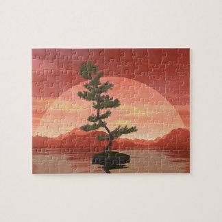Bonsaisbaum der schottischen Kiefer - 3D Puzzle