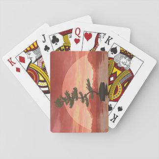 Bonsaisbaum der schottischen Kiefer - 3D Spielkarten