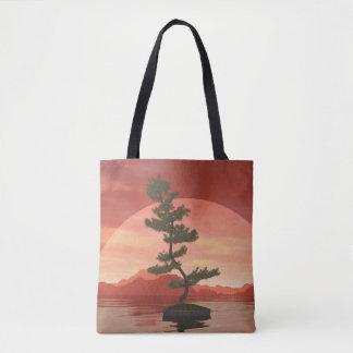 Bonsaisbaum der schottischen Kiefer - 3D Tasche
