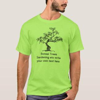 Bonsaisgarten-Baum-T - Shirts