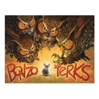 Bonzo Terks Postkarte