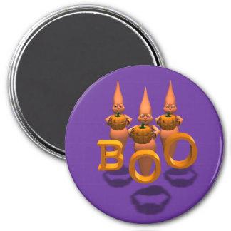 Boo! Drei niedliches Ghosties Runder Magnet 7,6 Cm